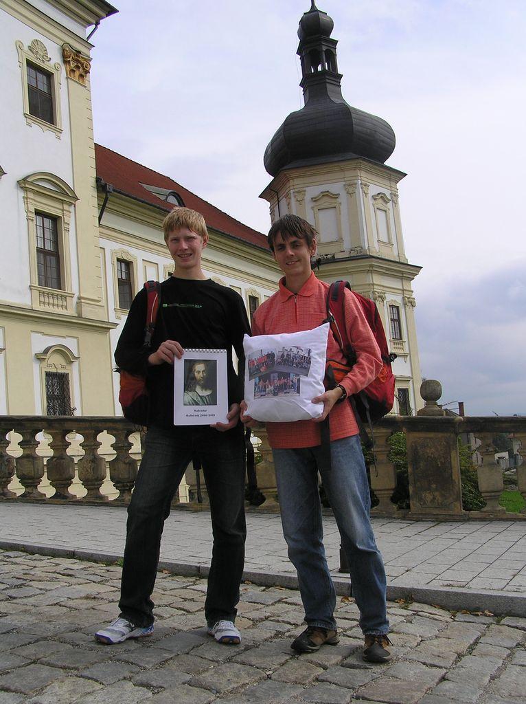 Petr Soukal a Vojtěch Novotný