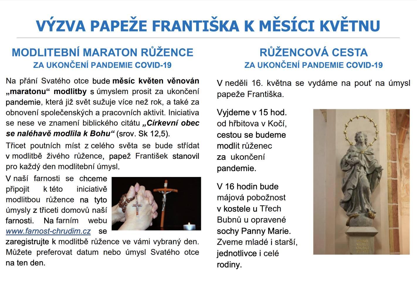 Výzva papeže Františka